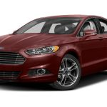 2014 Ford Fusion Titanium 4dr Front Wheel Drive Sedan Pictures