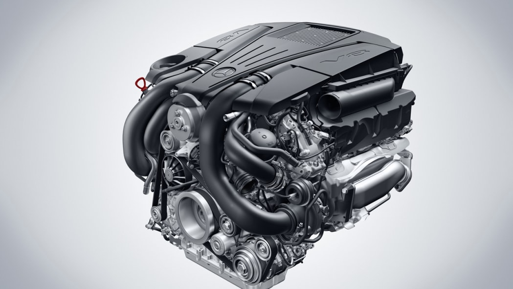 Officially Official: The new direct injected, multi-spark V6 and V8 engines from Mercedes-Benz | Autoblog