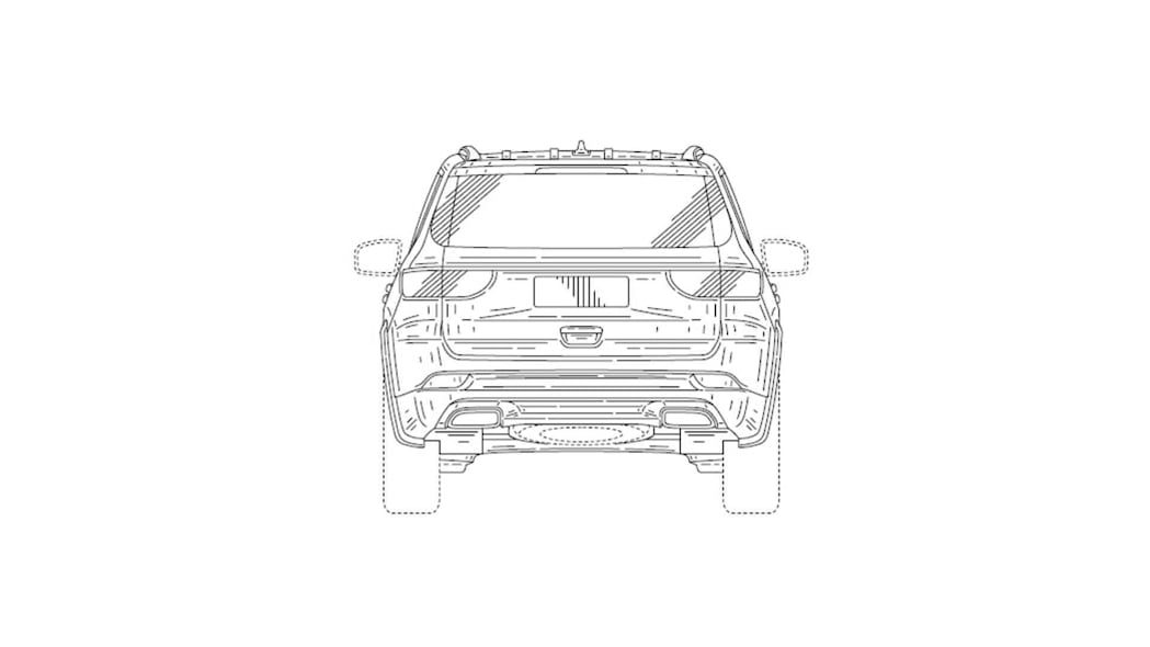 Patent filing in China shows Jeep plans for three-row