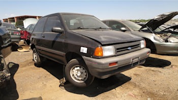 this ford festiva is