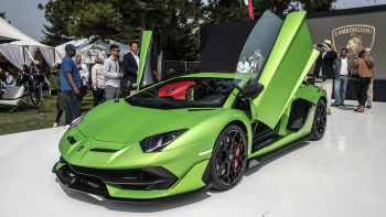 Lamborghini Aventador Svj And Svj 63 Revealed At Pebble Beach Autoblog