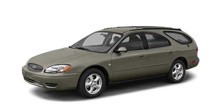 2003 White Ford Se Taurus