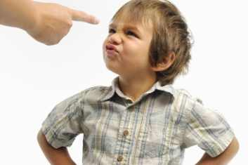 Image result for child being told off