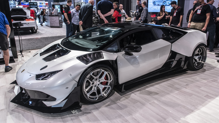 B is for Build Twin-Turbo V8 Huracan Widebody: SEMA 2019 ...