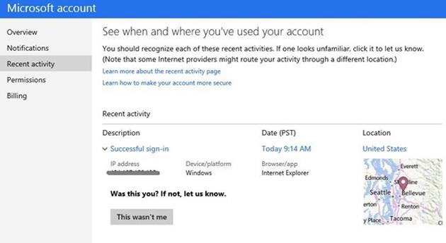 微軟提升帳戶安全機制,能主動提醒異常活動