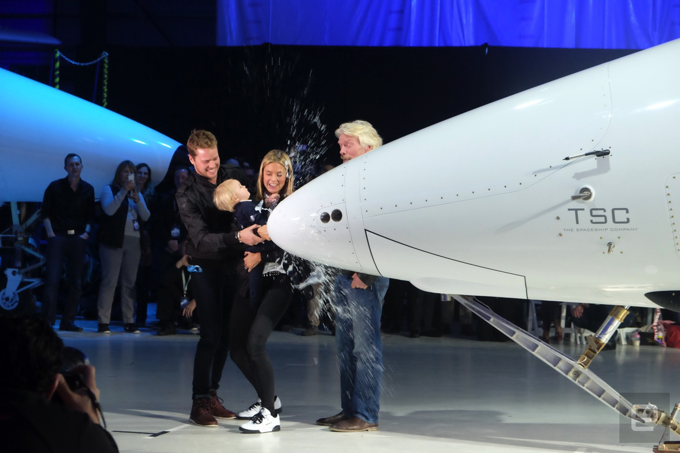 Virgin Galactic Unveils The New SpaceShip Two Named The