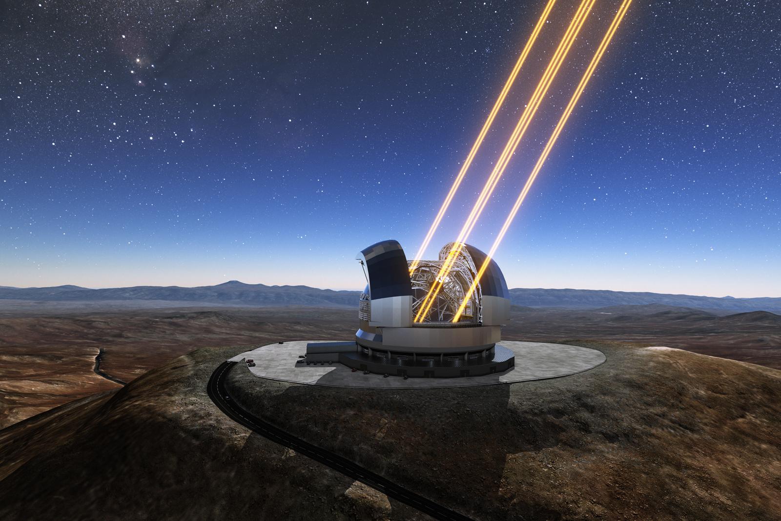 ESO 開始動工興建「歐洲極大望遠鏡」