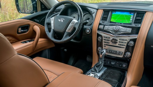 "Further advancing INFINITI's presence in the full-size luxury SUV segment, the 2018 QX80 takes INFINITI's ""Powerful Elegance"" design language in a bold new direction, creating a powerful, contemporary and commanding aesthetic."