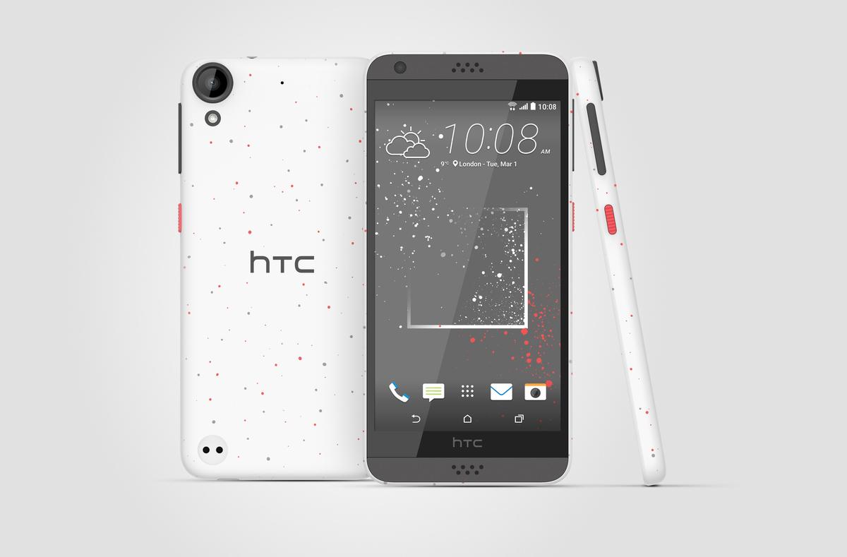 HTC 新世代潑彩機 Desire 530 / 630 / 825 發表