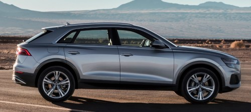 small resolution of 2019 audi q8 profile
