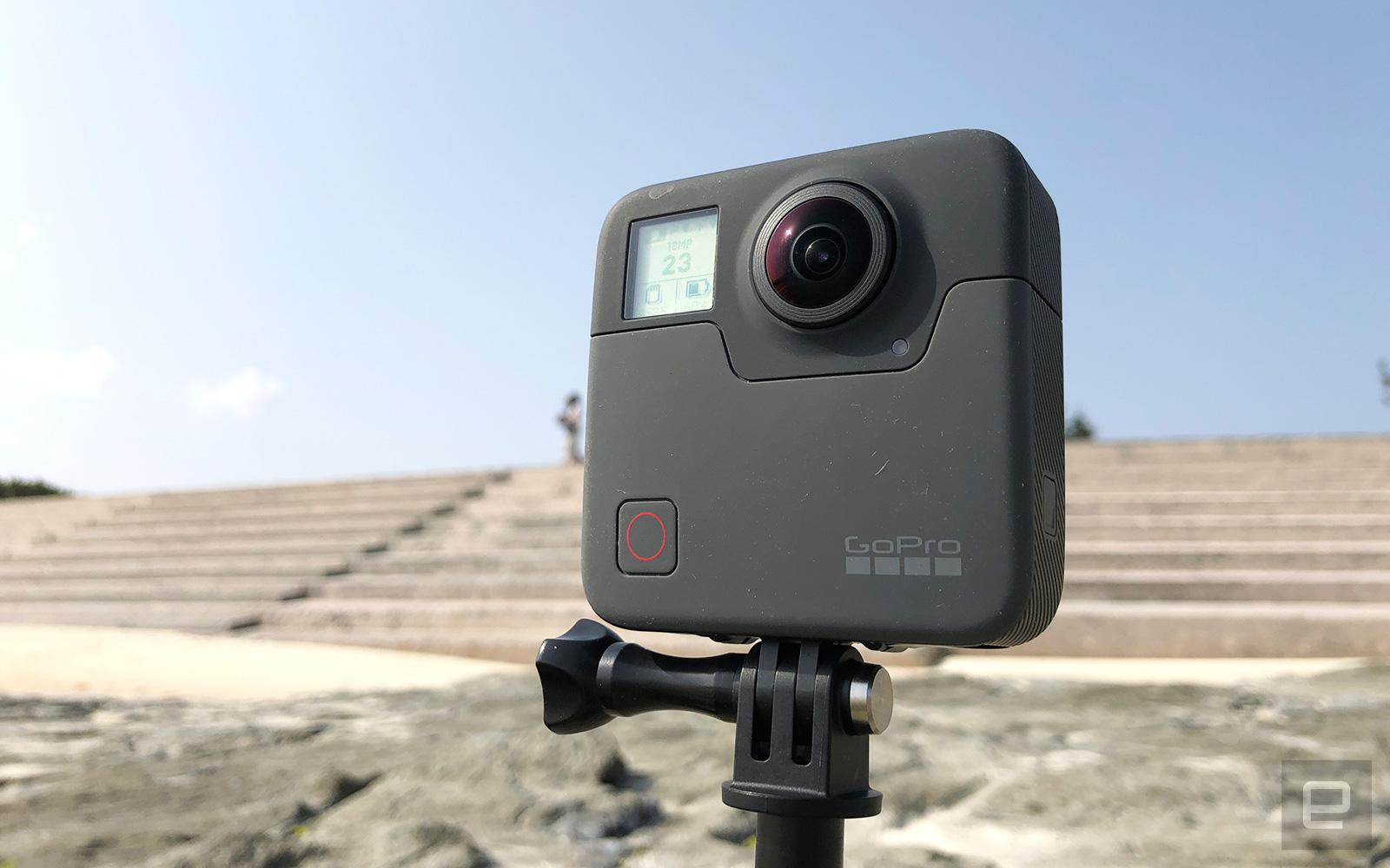 GoPro Fusion 評測:璞玉待琢
