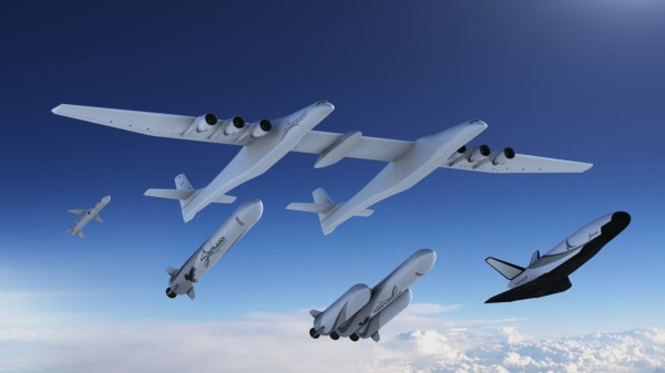 Stratolaunch' Satellite Carriers Include Reusable Space Plane