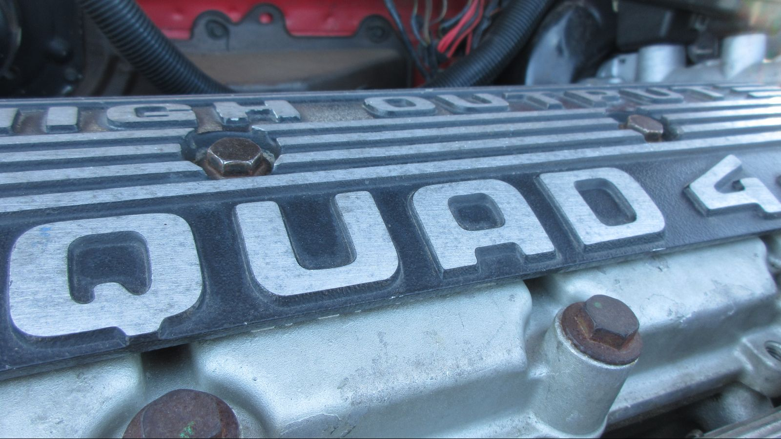 hight resolution of fortunately gm started bolting the modern 2 3 liter dohc quad 4 engine into 1988 cars and this was a proper four cylinder