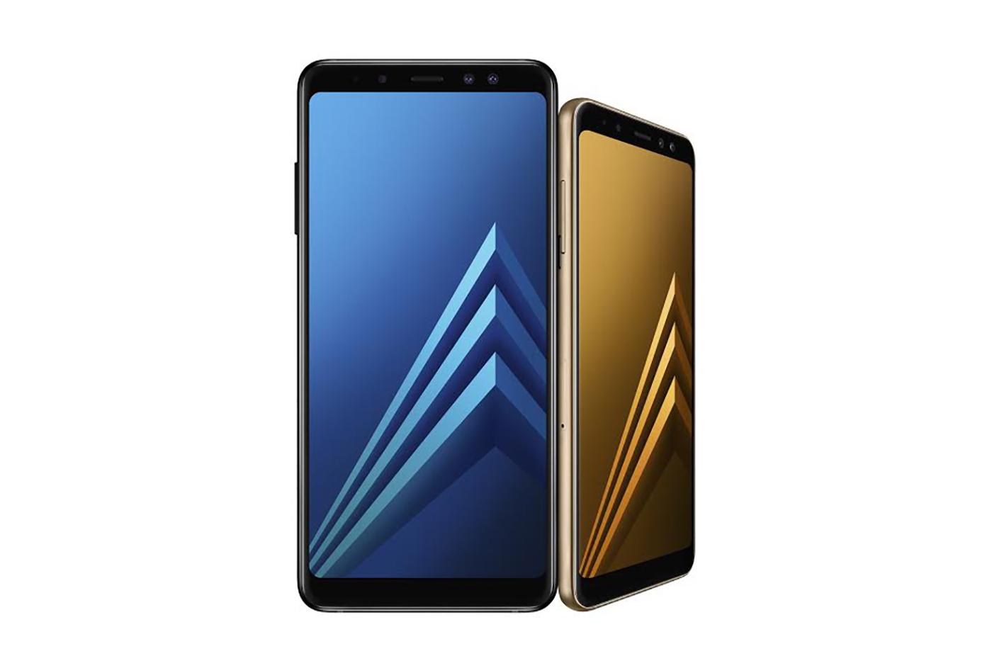 三星 Galaxy A8 與 A8+ (2018) 發表:搭載無邊際螢幕與「前置」雙相機