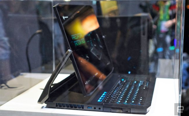 Acer S Triton 900 Gaming Laptop Has A Truly Unique