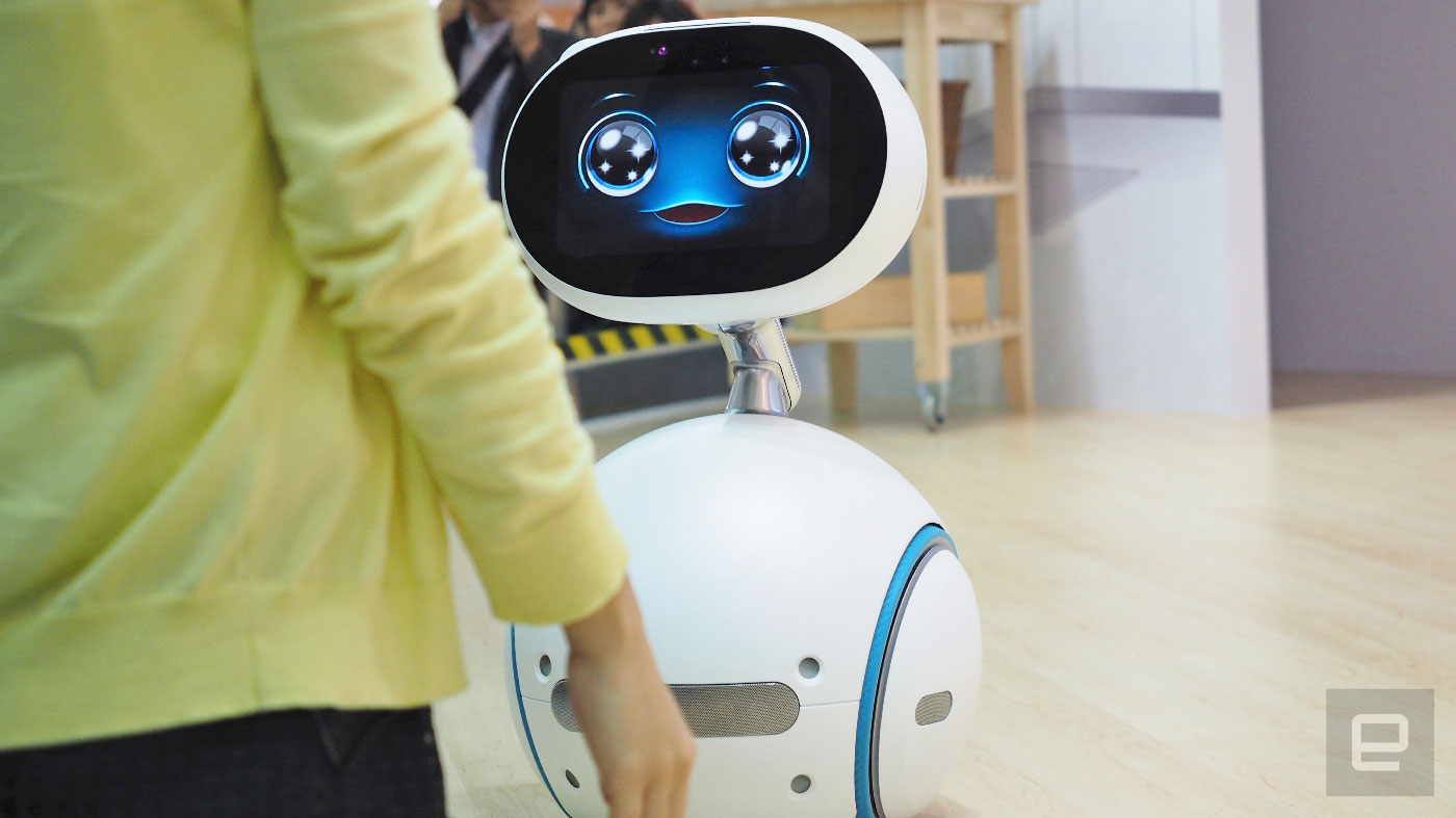 ASUS Zenbo proves our robot butler dreams remain just that