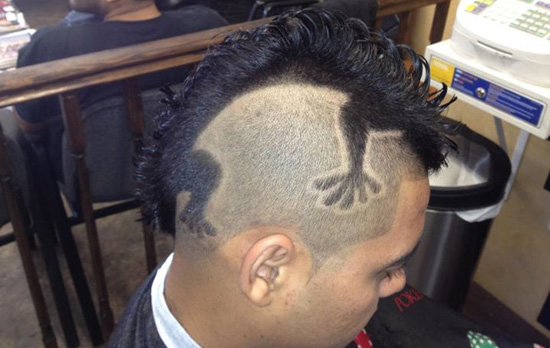 Revealed The Haircut Worth A Lifetime Of Free Fried Chicken AOL