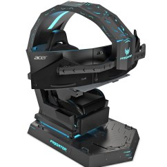 Small Gaming Chair Unfinished Wood Dining Chairs Acer 39s Predator Thronos Is A Cockpit Masquerading As