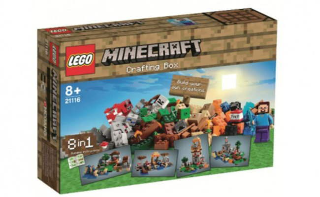 New Lego Minecraft Sneak Preview Of The Hottest Christmas