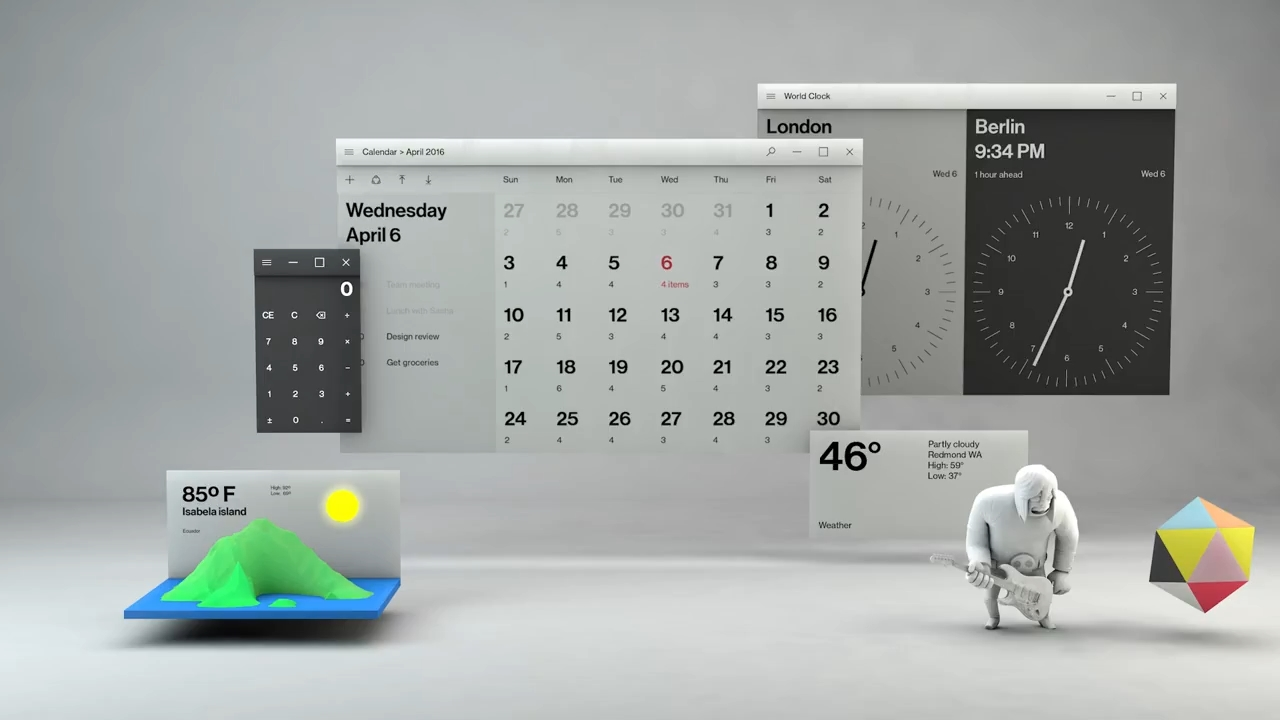 Fall Creators Update Wallpaper Microsoft S Design Rules Push Windows Beyond Mere Rectangles