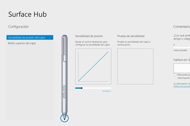 Microsoft te da ahora un mayor control sobre el Lápiz de