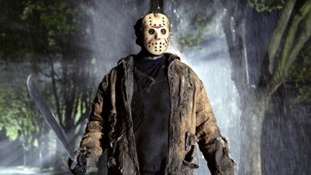 Jason, astro da série de filmes Sexta-Feira 13: sustos e muitas mortes no cinema.