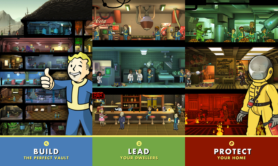 《Fallout Shelter》的 Android 版會在 8 月推出
