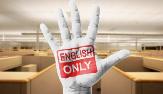 Image result for speak english only