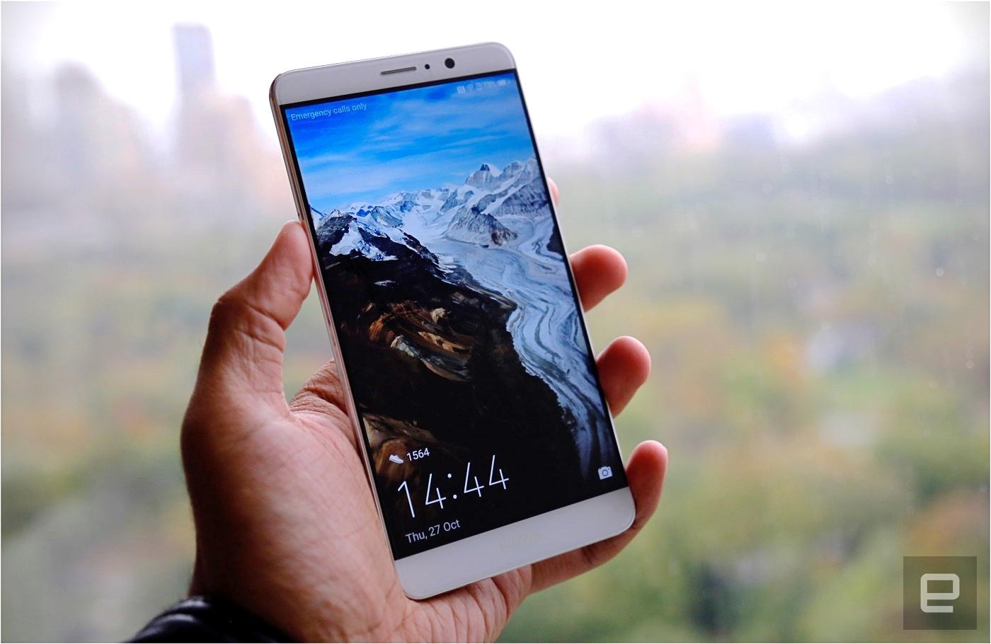 華為 Mate 9 想成為更「聰明」的智慧型手機(更新:另有 5.5 吋 2K 曲面螢幕版本)