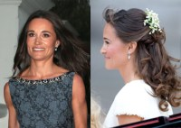 Bride-to-be Pippa Middleton glows in sleeveless gown and ...