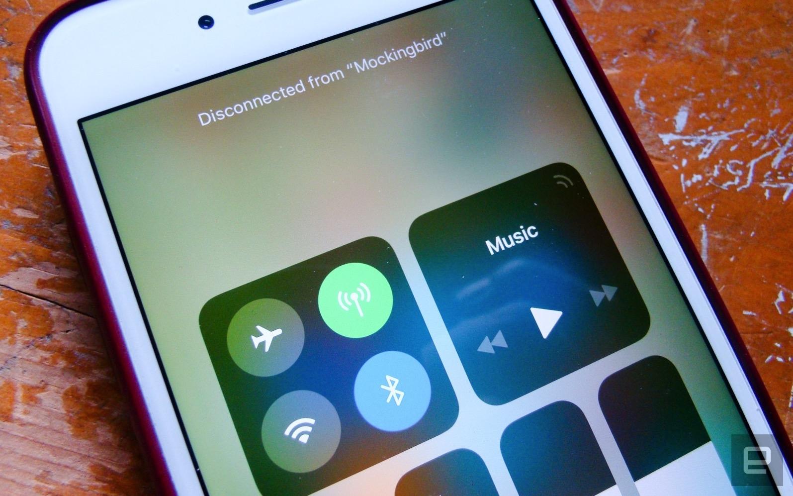 iOS 11のコントロールセンターはWiFi/Bluetoothをオフにせず。完全オフは「設定」から - Engadget 日本版