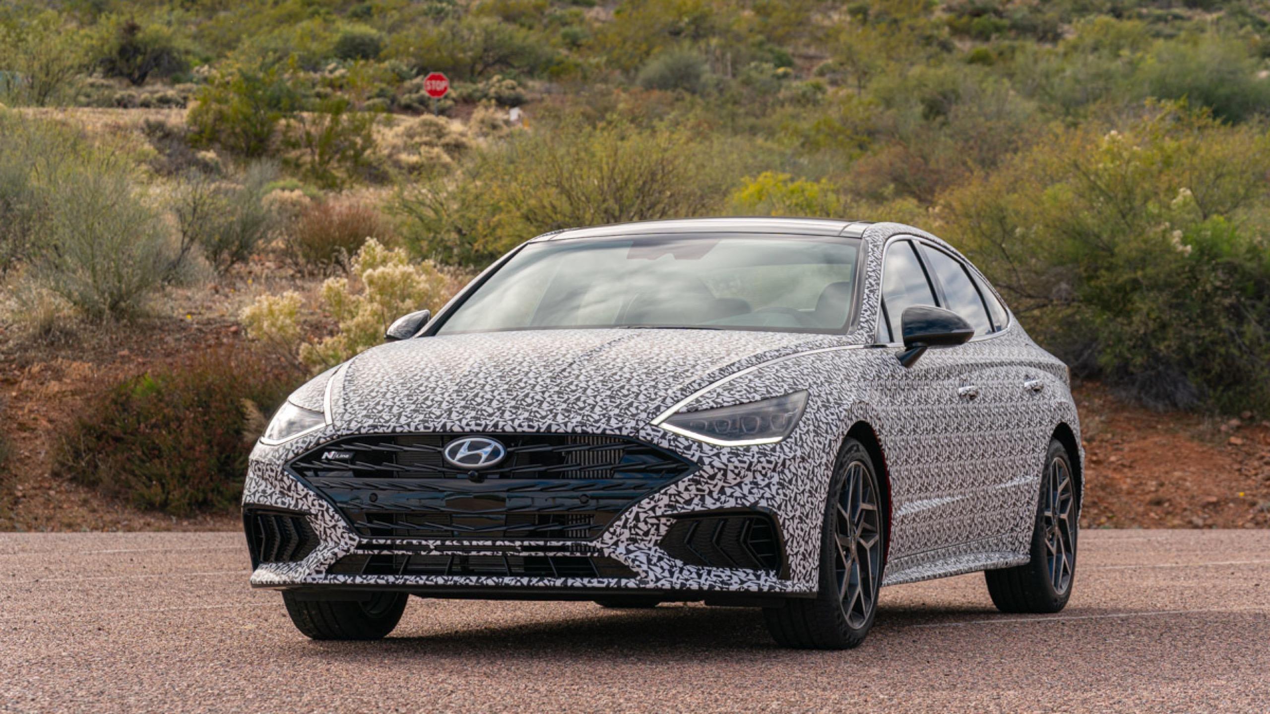2021 Hyundai Sonata N Line Review Specs Photos Driving Impressions Autoblog