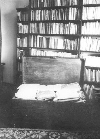 Arca do Espólio de Fernando Pessoa