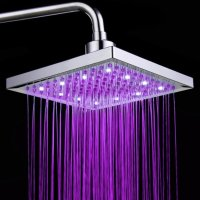 Creative Colorful LED Changing Color Shower Head Faucet ...