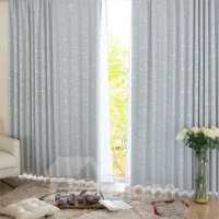 Best Selling Slivery Window Shade One piece Curtain with ...