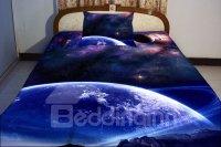 Blue Celestial Body Print 4