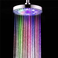 Magic Strong Water 7 Colors Led Light Shower Heads ...