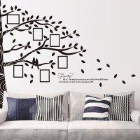 Large Tree Design Photo Display Wall Photo Frame Wall ...