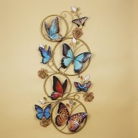 Gorgeous Decorative Butterfly Iron Works Wall Art ...