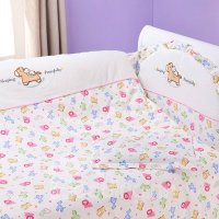 Adorable Colorful Lion Pattern 10-Piece Crib Bedding Sets ...