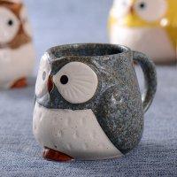 Cute Owl Design Ceramic Coffee Mug - beddinginn.com