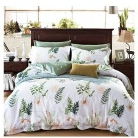 Concise American Country Style Mimose 4-Piece Print Cotton ...