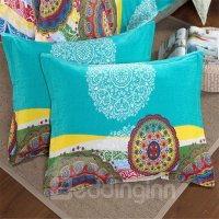 Amazing Bohemian Ethnic Style 4-Piece Cotton Duvet Cover ...
