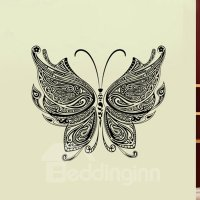 Amazing Black Butterfly Pattern Home Decorative Wall ...