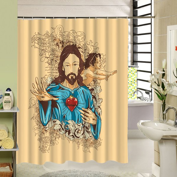Religious Character Printing 3D Waterproof Polyester