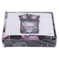 Super Cool Skull Design Black 4-Piece Duvet Cover Sets ...