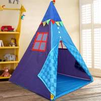 Cute Geometric Pattern Kids Indoor Tent Tepee - beddinginn.com