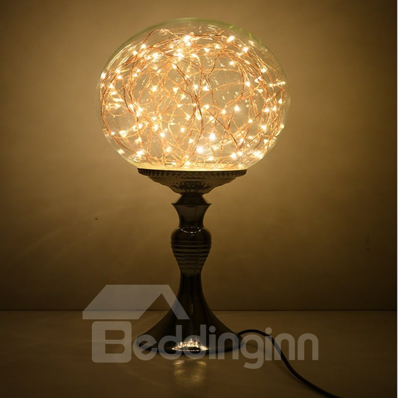 Classic Creative Dimming Control Glass Lamp Shade