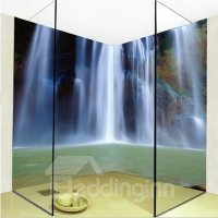 Natural Creative Waterfall Pattern Design Waterproof ...