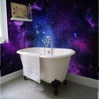 Dreamy European Style Galaxy Starry Sky Pattern Waterproof ...